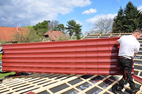 Gut gemocht Presse - Wenn eine neue Dacheindeckung leicht sein muss MV19